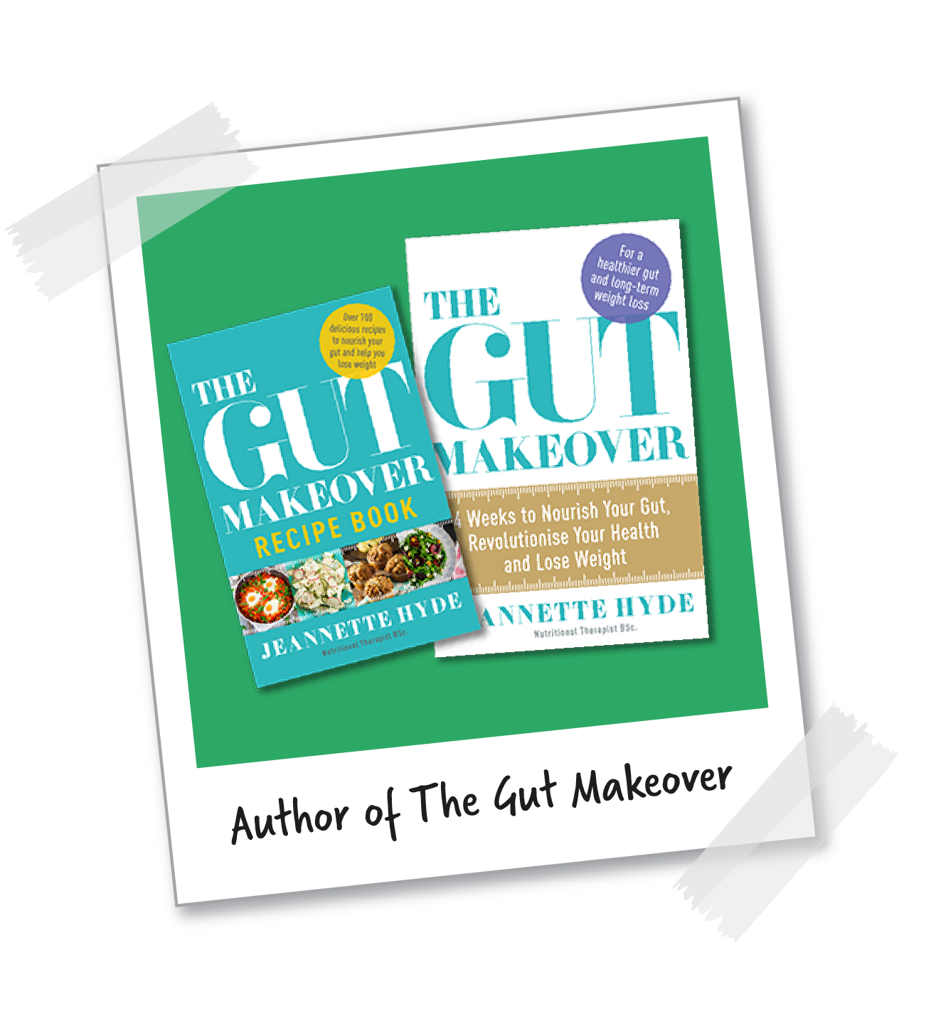 Author of The Gut Makeover
