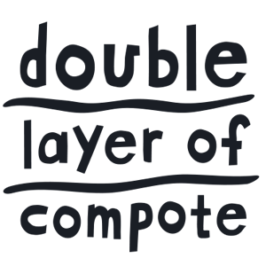 Double layer of compote