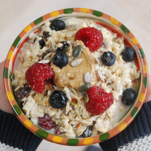 kids big tub bircher muesli