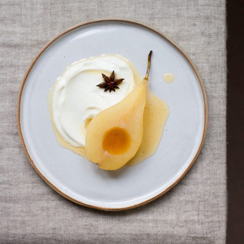 poached pears recipe