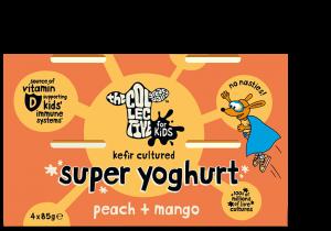 Peach and Mango Super Yoghurt