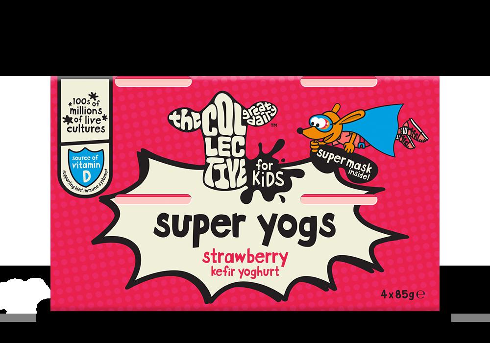 Strawberry super yoghurt
